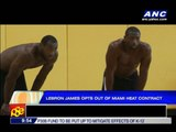 LeBron opts out of Miami Heat contract