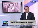 Teditorial: Who killed Cock Robin?