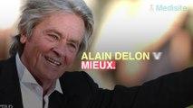 Alain Delon va mieux, son fils Alain Fabien se veut rassurant