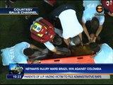 Neymar's injury mars Brazil win against Colombia