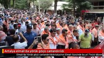 Antalya elmalı'da yörük göçü canlandırıldı