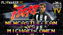 Fan TV | Newcastle fan shuts down Michael Owen in epic rant