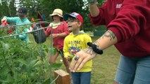 Des jeunes de Saint-Modeste découvrent les rudiments du jardinage