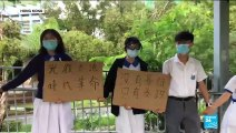 """""""La lutte n'est pas finie"""" clament les étudiants hongkongais après le retrait définitif du projet de loi d'extradition"""