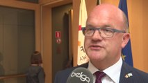 Philippe Courard : le Parlement de la Fédération Wallonie-Bruxellesa fait sa rentrée, dans l'attente d'un gouvernement