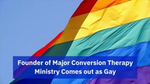 Conversion Therapy Leader Is Gay