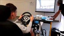 La sécurité routière sur simulateur au lycée professionnel Ligier-Richier de Bar-le-Duc