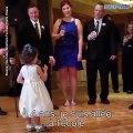 Cette petite fille a insisté pour faire un discours au mariage de son oncle