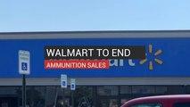 Walmart To End Ammunition Sales