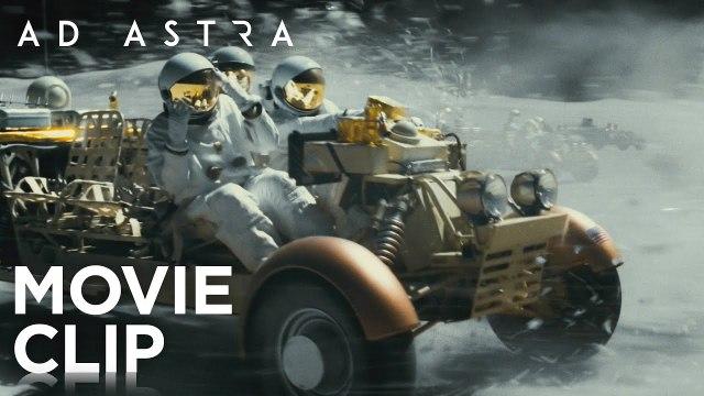 """Ad Astra Movie Clip - """"Moon Rover"""" (2019) Brad Pitt Drama Movie HD"""