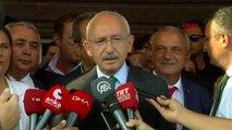Aydın chp lideri kemal kılıçdaroğlu, canan kaftancıoğlu'nun aldığı cezaya ilişkin açıklama yaptı