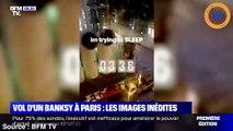 BFM TV revient sur le vol d'un Banksy à Paris !