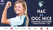 C'est la reprise dimanche pour les féminines du HAC !