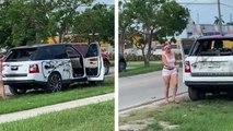 Elle apprend que son mari la trompe et se venge en détruisant son SUV