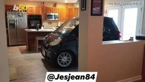 Smart Car Owner Outsmarts Hurricane! Florida Man Parked Smart Car in Kitchen During Dorian So It Wouldn't Blow Away!