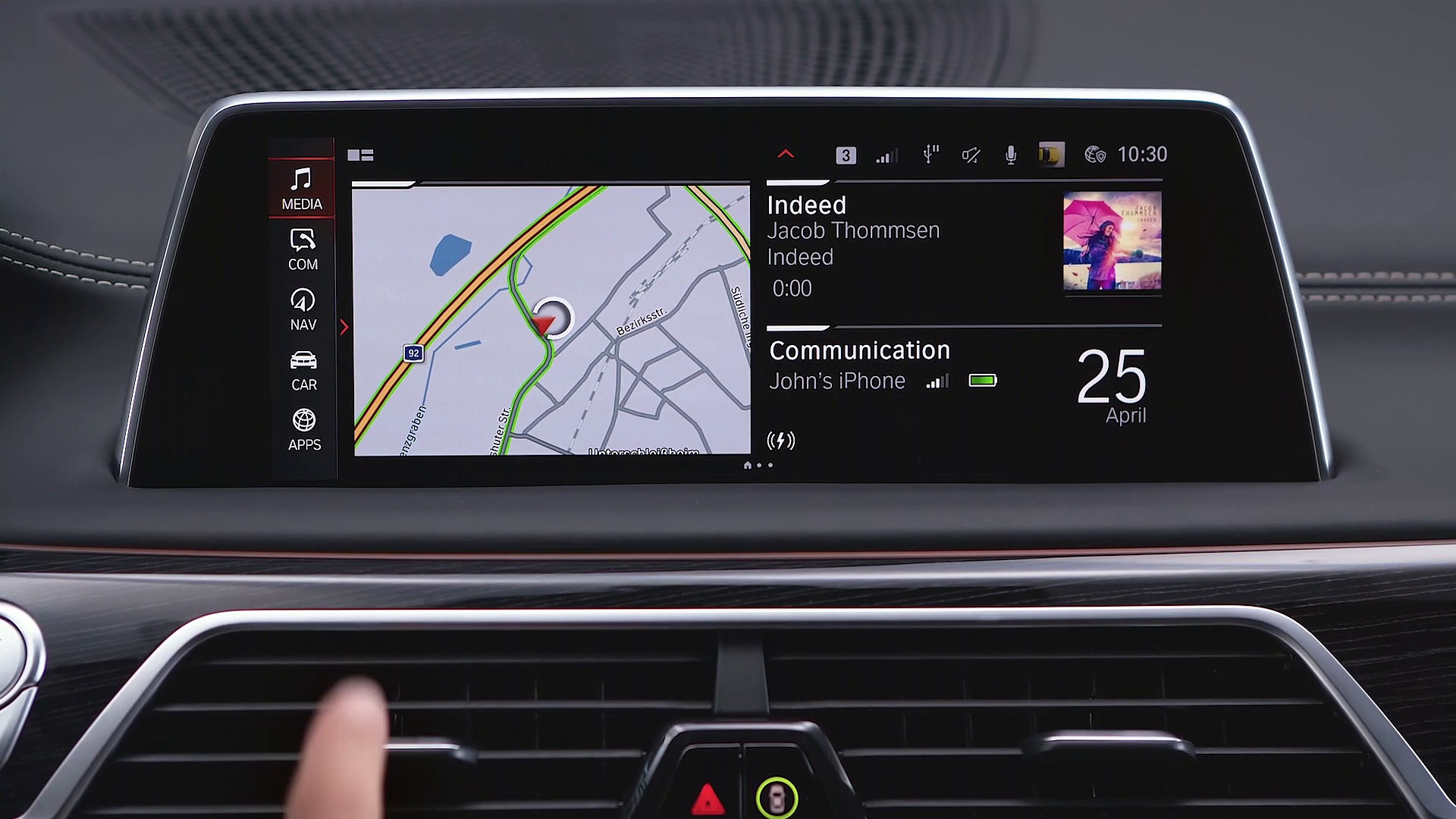 How to change lanes automatically – BMW How-To
