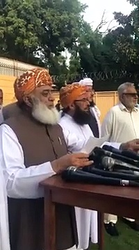 Amend Economy Is Not Your Job – Fazal Ur Rehman Response Of DG ISPR Comments About Economy Situation