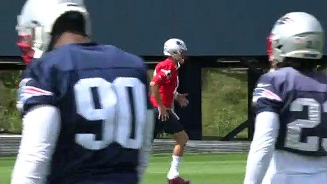 Tom Brady Dances At Patriots Practice, Week 1 vs. Steelers