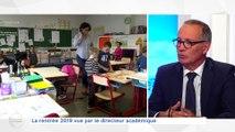 L'invité de la rédaction  - 05/09/2019 - Dominique Bourget Directeur académique d'Indre et Loire