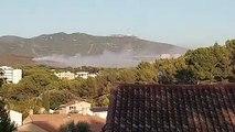 Incendies autour de Marseille : les Canadair entrent en action