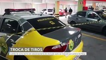 Ladrão de carro morre em estacionamento de mercado após ser baleado por policial de folga