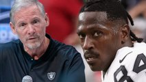 Antonio Brown Facing SUSPENSION After Threatening To Hit Raiders GM In The FACE!