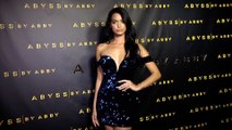 """Rona Mahal """"Abyss by Abby"""" USA Launch Party Black Carpet"""