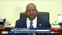 Bakersfield Police Chief Lyle Martin comments on arrest of Assistant Chief of Police