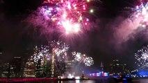 NEW YORK : L'énorme feu dartifice pour le 4 Juillet 2019 Independance day