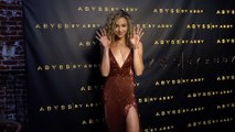 """Charly Jordan """"Abyss by Abby"""" USA Launch Party Black Carpet"""