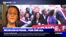 Jean-Luc Mélenchon en prison ... pour voir Luiz Inácio Lula da Silva