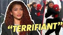 Zendaya : sa plus grosse peur sur Spider-Man (INTERVEW)