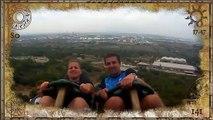 Il attrape un téléphone perdu dans des montagnes russes (PortAdventura)
