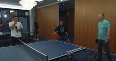 Walker Cup: Before the Golf Starts, a Ping Pong Battle