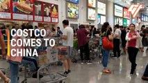 Joining the Mob at China's First Costco