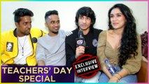 Shantanu Maheshwari And Nityaami Teachers Day Special | Nach Baliye 9 | Exclusive Interview