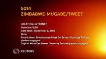 Zimbabwe's former president Robert Mugabe dies in Singapore - official tweet