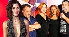 Zuhal Olcay, Nesrin Cavadzade Aşk Tesadüfleri Sever filminin partisine geç kalınca mekanı terk etti