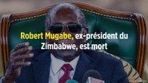 Robert Mugabe, ex-président du Zimbabwe, est mort
