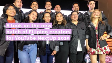 A look on the new batch of Filipino creators for YouTube NextUp 2019
