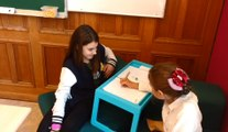 Les élèves travaillent en atelier à l'école de Rebaix