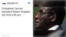 L'ancien président du Zimbabwe Robert Mugabe est mort à l'âge de 95 ans