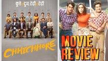 Chhichhore Movie Review | Sushant Singh Rajput | Shraddha Kapoor