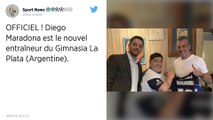 Football : Diego Maradona nouvel entraîneur d'un club argentin