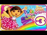 Dora the Explorer: Dora Saves the Crystal Kingdom Part 3 (Wii, PS2) Storybook - Green