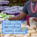Le prix de la pomme de terre flambe