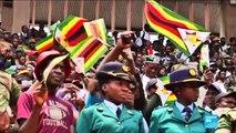 """Décès de Robert Mugabe, son """"successeur"""" lui rend hommage"""