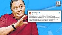 Rishi Kapoor's Horrific Experience On His Birthday In NYC