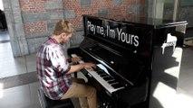 Tournai piano dans la gare 06.09.2019