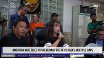 American who tried to sneak baby out of PH faces multiple raps